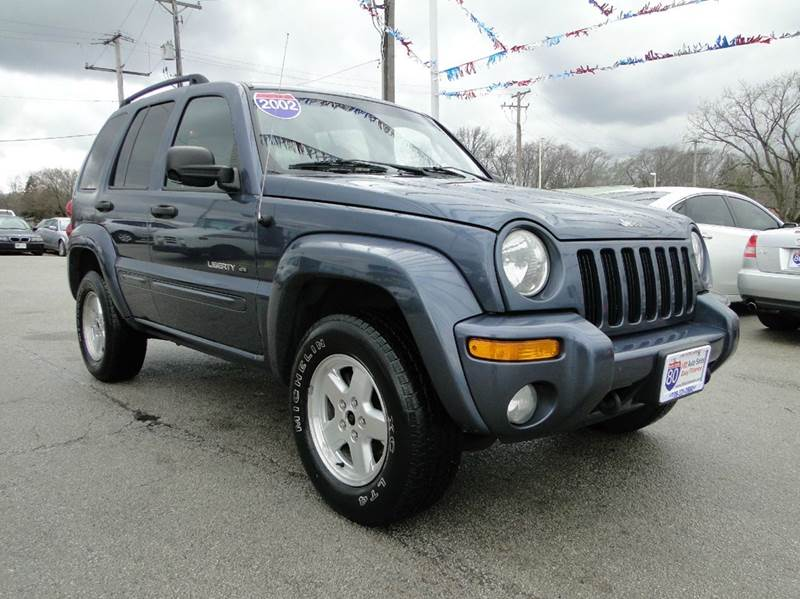 2002 jeep liberty limited 4dr 4wd suv in hazel crest il. Black Bedroom Furniture Sets. Home Design Ideas