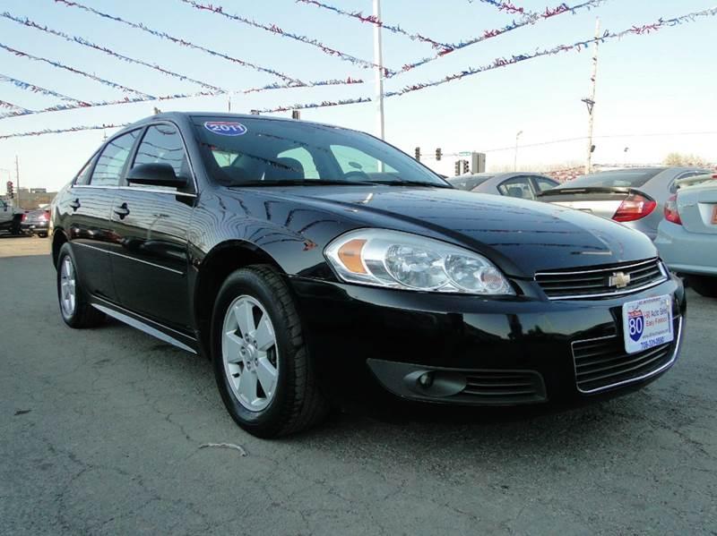 2011 chevrolet impala lt fleet 4dr sedan w 2fl in hazel crest il i 80 auto sales. Black Bedroom Furniture Sets. Home Design Ideas