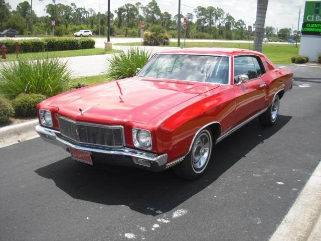 1971 Chevrolet Monte Carlo Sport Coupe
