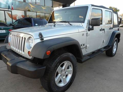 2009 jeep wrangler unlimited for sale in houston tx. Cars Review. Best American Auto & Cars Review