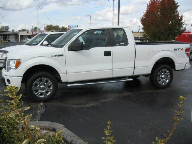 2012 ford f 150 4x4 stx 4dr supercab styleside 6 5 ft sb in pocatello id university auto. Black Bedroom Furniture Sets. Home Design Ideas