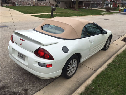 2001 Mitsubishi Eclipse Spyder for sale in Arena, WI