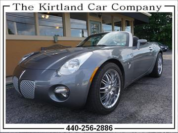 2006 Pontiac Solstice for sale in Kirtland, OH