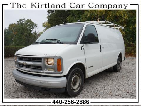 2002 Chevrolet Express Cargo for sale in Kirtland, OH