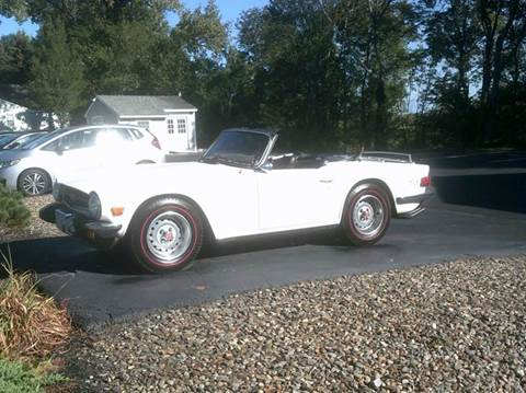 1976 Triumph TR6 for sale in North Grafton, MA