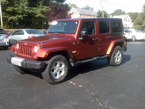 2014 Jeep Wrangler Unlimited for sale in North Grafton, MA