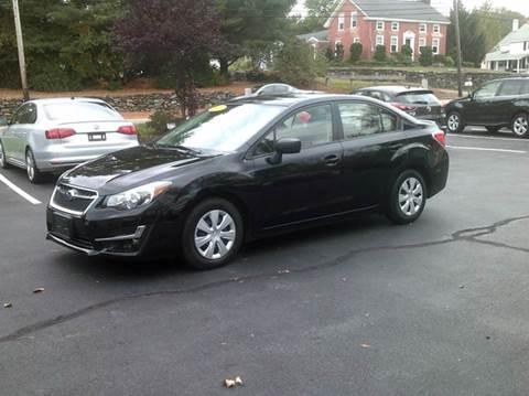 2016 Subaru Impreza for sale in North Grafton, MA