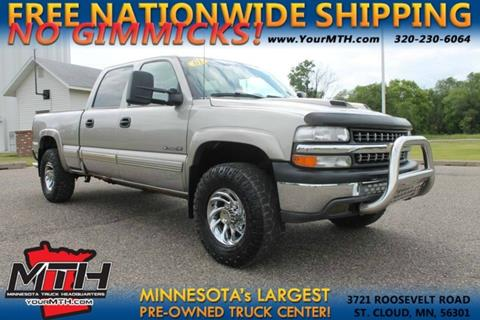 2001 Chevrolet Silverado 1500HD for sale in Saint Cloud, MN