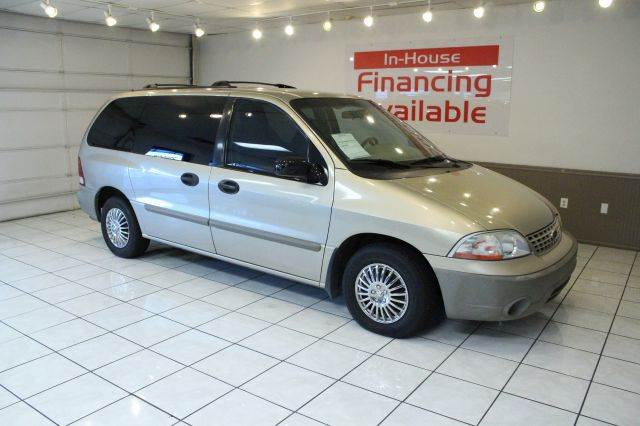 2001 FORD WINDSTAR LX 4DR MINIVAN gold abs - 4-wheel anti-theft system - alarm captain chairs -