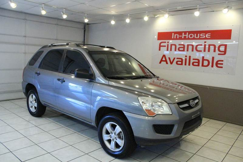 2009 KIA SPORTAGE LX 4DR SUV 4A gray 2-stage unlocking abs - 4-wheel airbag deactivation - occu