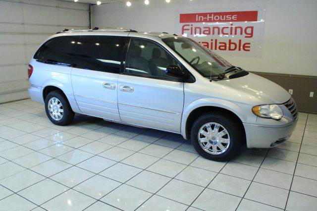 2006 CHRYSLER TOWN AND COUNTRY LIMITED 4DR EXT MINIVAN silver abs - 4-wheel adjustable pedals -