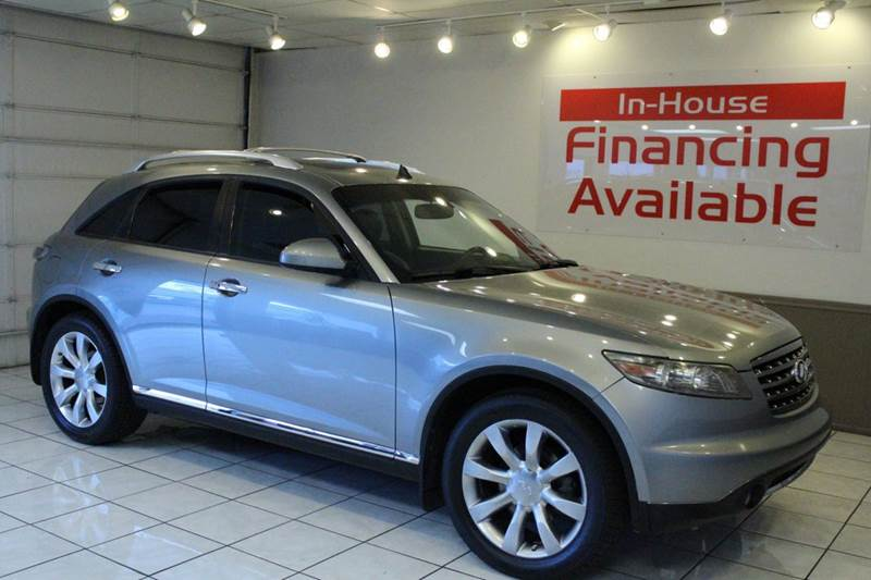 2006 INFINITI FX35 BASE 4DR SUV silver abs - 4-wheel air filtration airbag deactivation - occup
