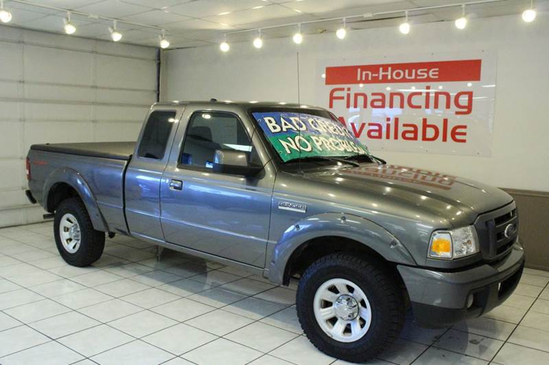 2007 FORD RANGER SPORT 2DR SUPERCAB SB gray abs - 4-wheel airbag deactivation - passenger switch