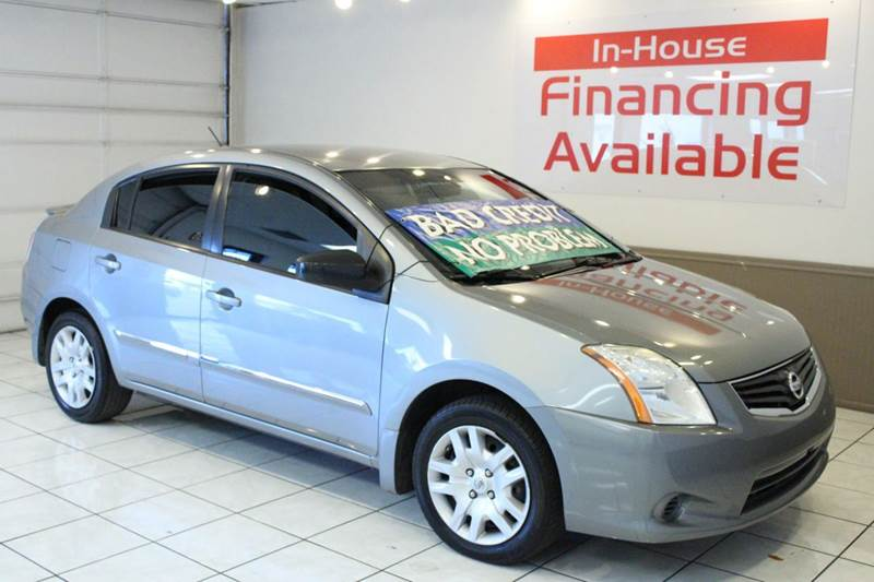 2012 NISSAN SENTRA 20 4DR SEDAN CVT gray 2-stage unlocking - remote abs - 4-wheel air filtrati