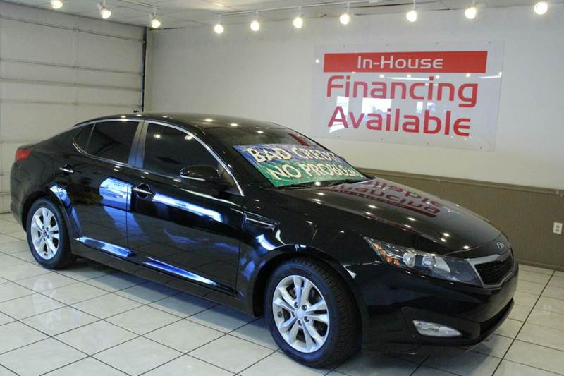 2013 KIA OPTIMA LX 4DR SEDAN black 2-stage unlocking abs - 4-wheel active head restraints - dua