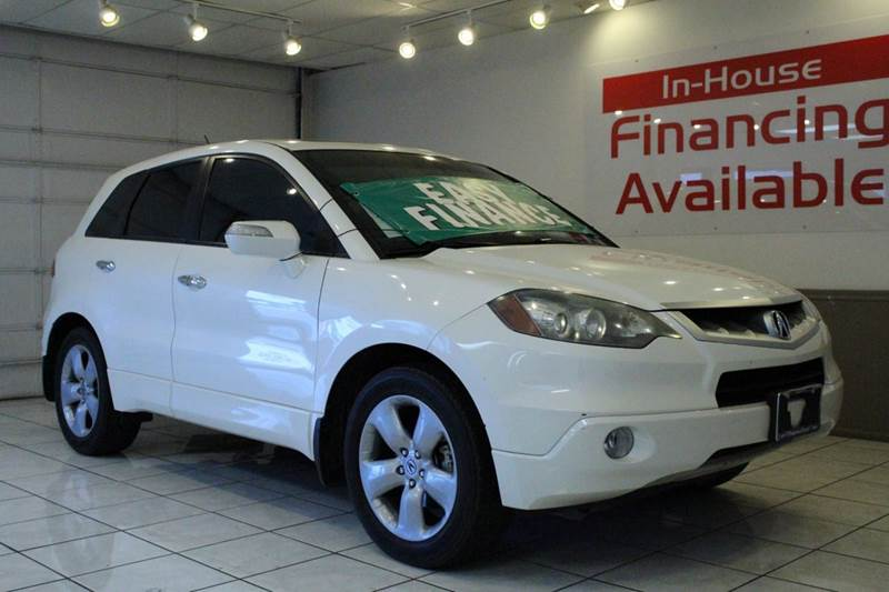 2008 ACURA RDX SH-AWD 4DR SUV white 2-stage unlocking - remote 4wd type - full time abs - 4-whe