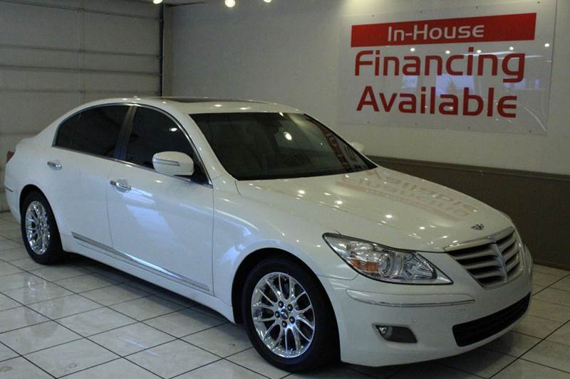 2009 HYUNDAI GENESIS 38L V6 4DR SEDAN white abs - 4-wheel active head restraints - dual front