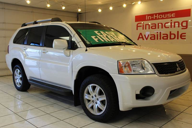 2011 MITSUBISHI ENDEAVOR LS 4DR SUV white 2-stage unlocking - remote abs - 4-wheel airbag deact