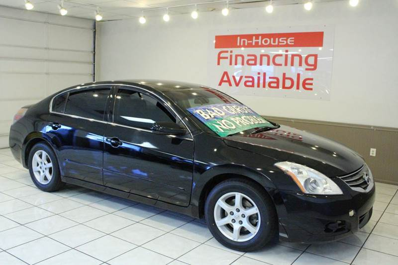2012 NISSAN ALTIMA 25 4DR SEDAN black 2-stage unlocking - remote abs - 4-wheel air filtration