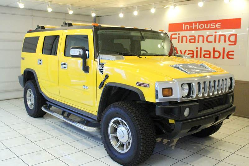 2006 HUMMER H2 BASE 4DR SUV 4WD yellow 4wd type - full time abs - 4-wheel airbag deactivation -