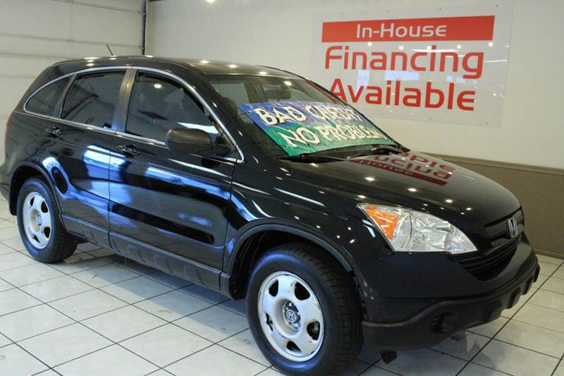 2007 HONDA CR-V LX AWD 4DR SUV black 2-stage unlocking - remote 4wd type - on demand abs - 4-wh