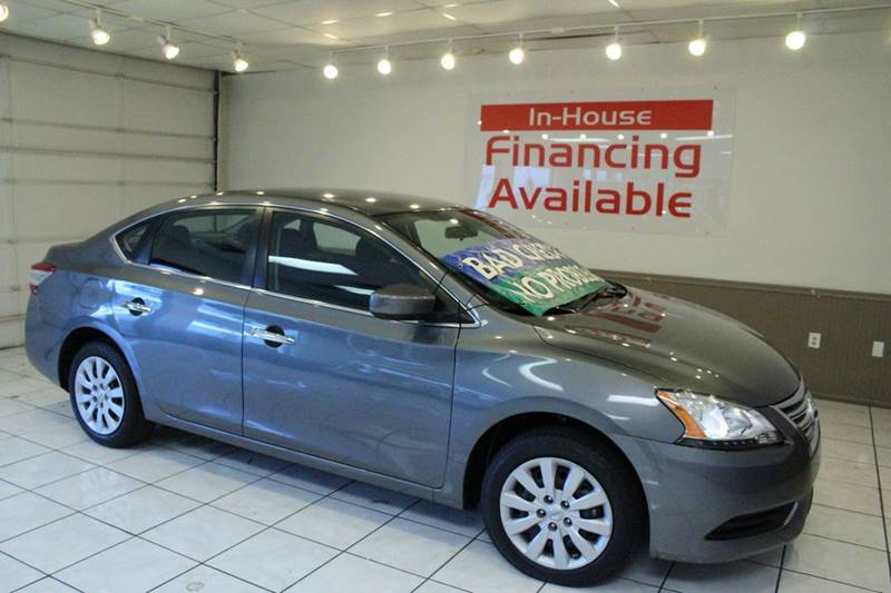 2015 NISSAN SENTRA SV 4DR SEDAN gray 2-stage unlocking - remote abs - 4-wheel air filtration a