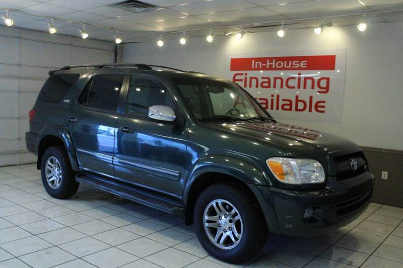 2007 TOYOTA SEQUOIA SR5 4DR SUV green 2-stage unlocking abs - 4-wheel antenna type - element a