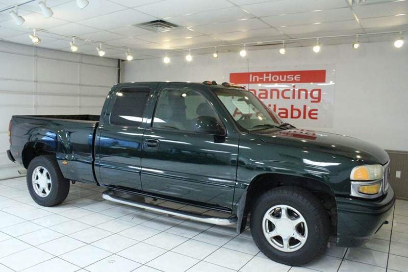 2003 GMC SIERRA 1500 DENALI AWD 4DR EXTENDED CAB SB green abs - 4-wheel anti-theft system - alar