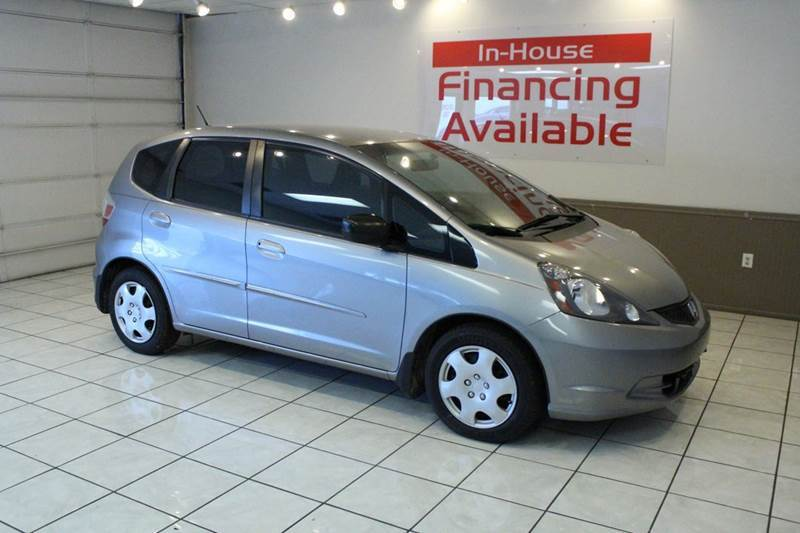 2010 HONDA FIT BASE 4DR HATCHBACK 5M gray abs - 4-wheel active head restraints - dual front air
