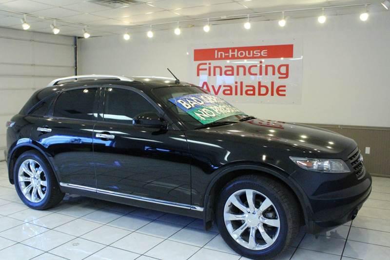2007 INFINITI FX35 BASE 4DR SUV black 2-stage unlocking - remote abs - 4-wheel air filtration -