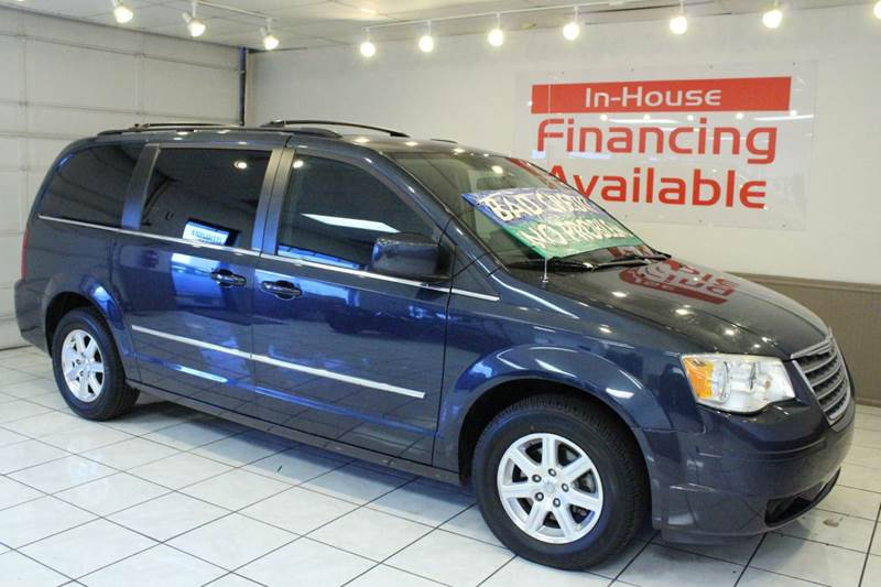 2009 CHRYSLER TOWN AND COUNTRY TOURING MINI VAN 4DR blue 2-stage unlocking - remote abs - 4-whee