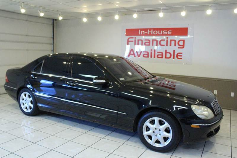 2005 MERCEDES-BENZ S-CLASS S500 4MATIC AWD 4DR SEDAN black abs - 4-wheel anti-theft system - ala