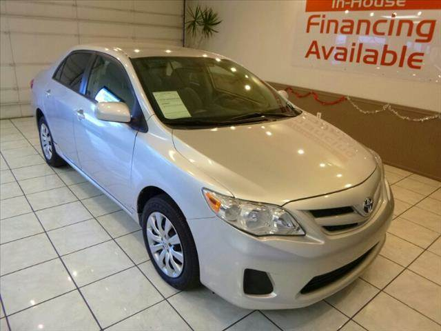 2012 TOYOTA COROLLA LE 4DR SEDAN 4A silver cruise control power brakes power locks power mirro