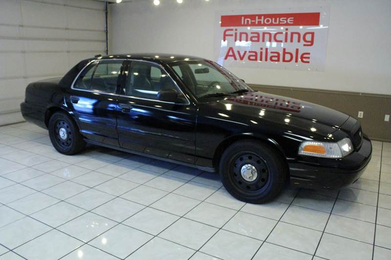 2009 FORD CROWN VICTORIA POLICE INTERCEPTOR 4DR SEDAN 3 black abs - 4-wheel adjustable pedals