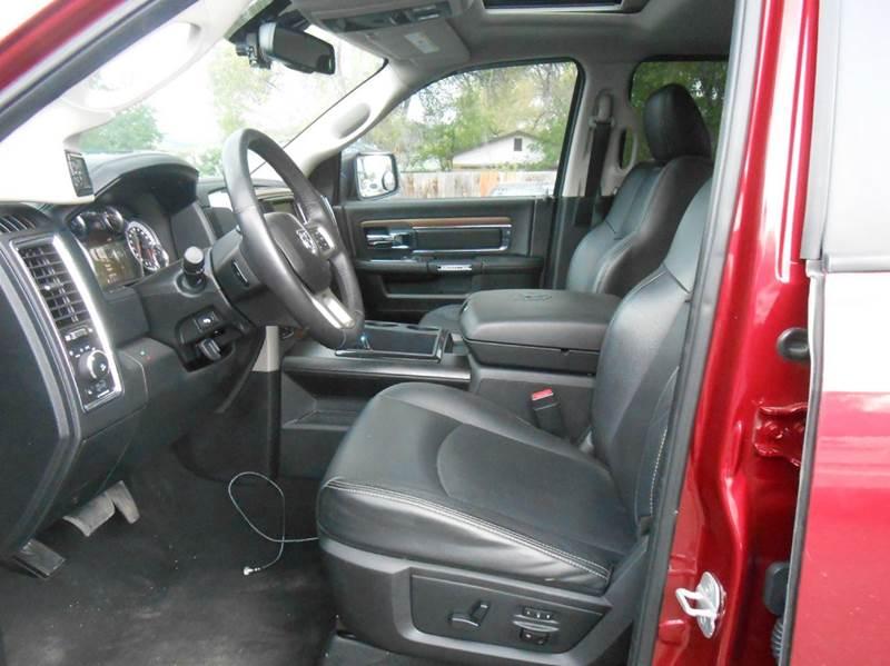 2014 RAM Ram Pickup 1500 4x4 Laramie 4dr Quad Cab 6.3 ft. SB Pickup - Pocatello ID