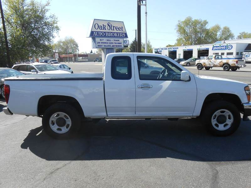 2011 GMC Canyon 4x4 Work Truck 4dr Extended Cab - Pocatello ID