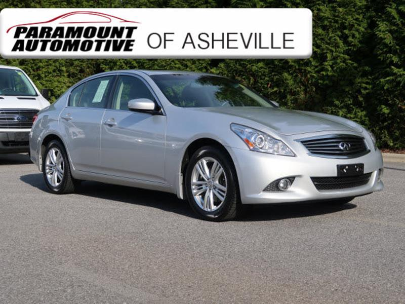 G37 Sedan 0 60 >> Infiniti G37 Sedan For Sale in Asheville, NC - Carsforsale.com