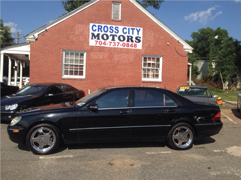 2002 mercedes benz s class for sale north carolina for Mercedes benz south charlotte nc