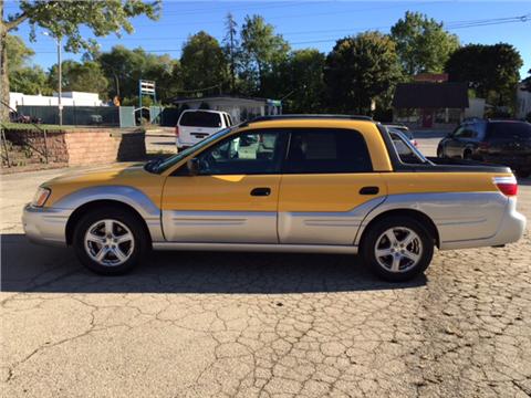 2003 Subaru Baja for sale in Appleton WI