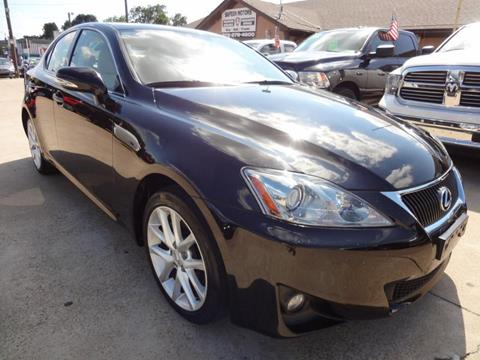2011 Lexus IS 250 for sale in Garland, TX