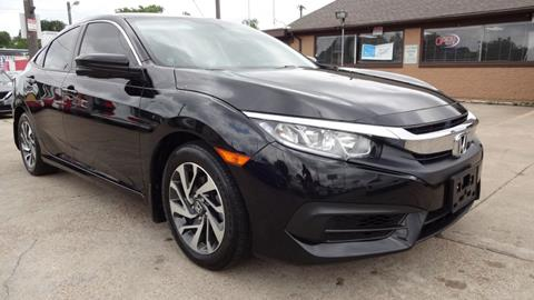 2017 Honda Civic for sale in Garland, TX