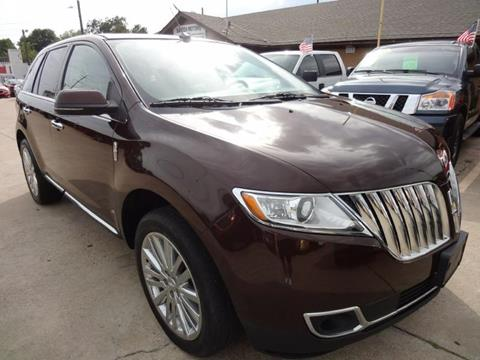 2012 Lincoln MKX for sale in Garland, TX