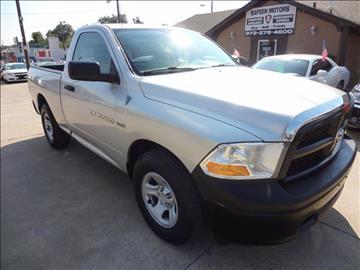 2012 RAM Ram Pickup 1500 for sale in Garland, TX