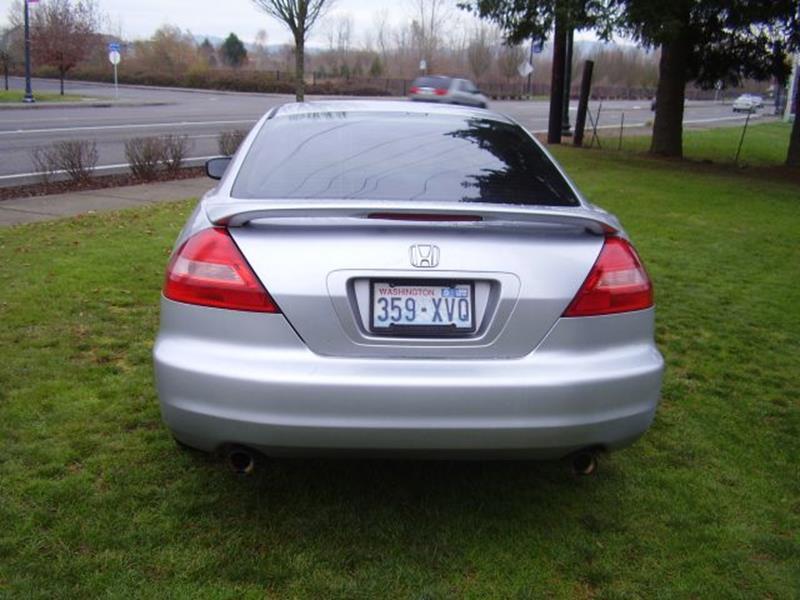 2003 Honda Accord EX V-6 2dr Coupe - Battle Ground WA