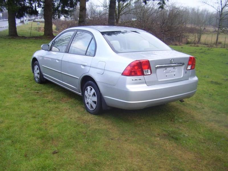 2003 Honda Civic LX 4dr Sedan w/Side Airbags - Battle Ground WA