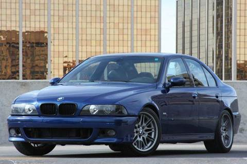 2000 BMW M5 For Sale  Carsforsalecom
