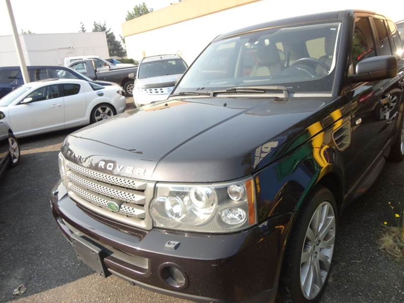 2009 Land Rover Range Rover Sport 4x4 HSE 4dr SUV w/ Luxury Package - Redmond WA