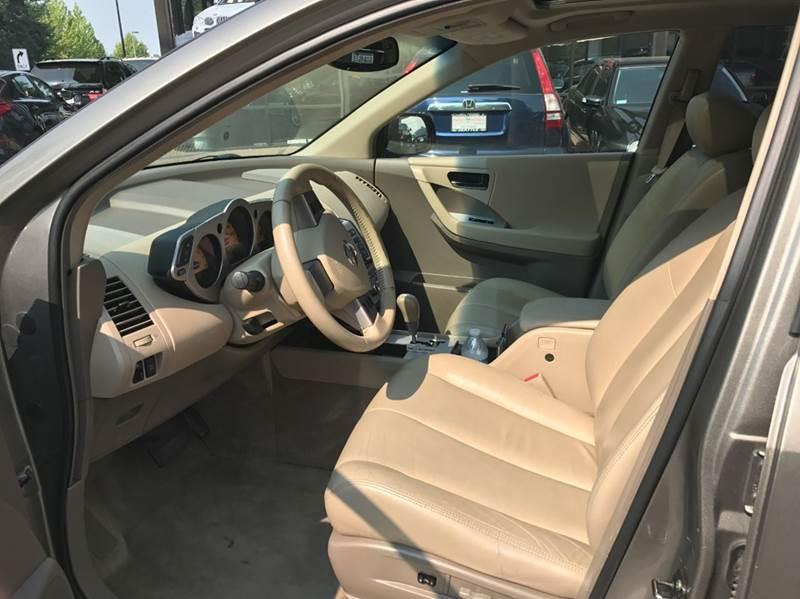 2004 Nissan Murano AWD SL 4dr SUV - Redmond WA