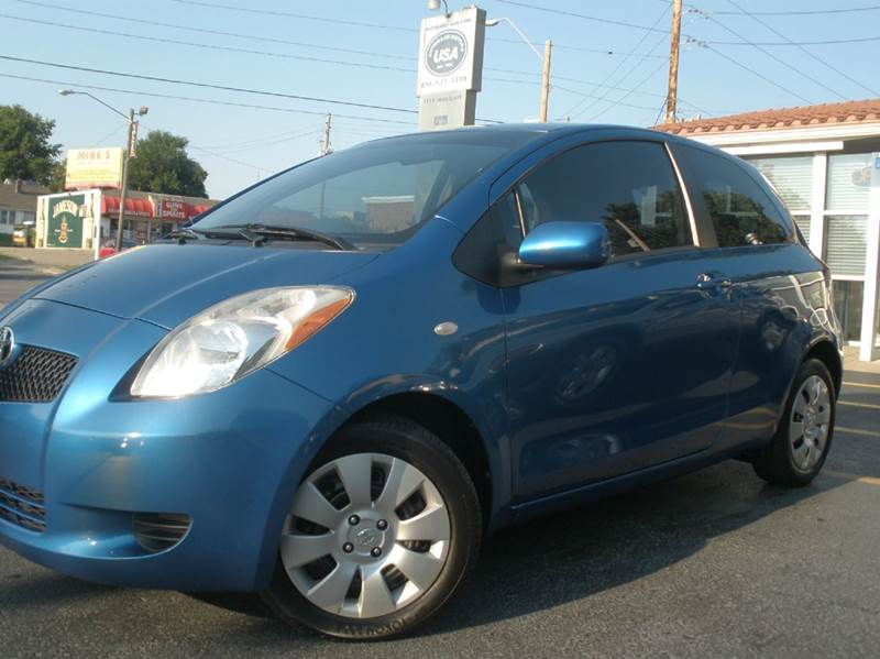 2008 toyota yaris for sale in kansas city mo. Black Bedroom Furniture Sets. Home Design Ideas