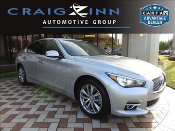 2016 Infiniti Q50 for sale in Pembroke Pines, FL